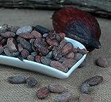 los granos de cacao en bruto 100 g