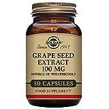 Solgar Extracto de semilla de Uva 100 mg Cápsulas vegetales - Envase de 30