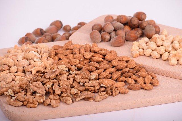 Semillas de granos salvado